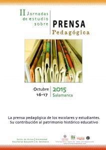 Para II Jornadas Prensa Pedagógica 2015