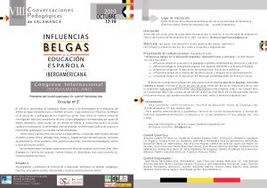 Circular 2 Influencias Belgas